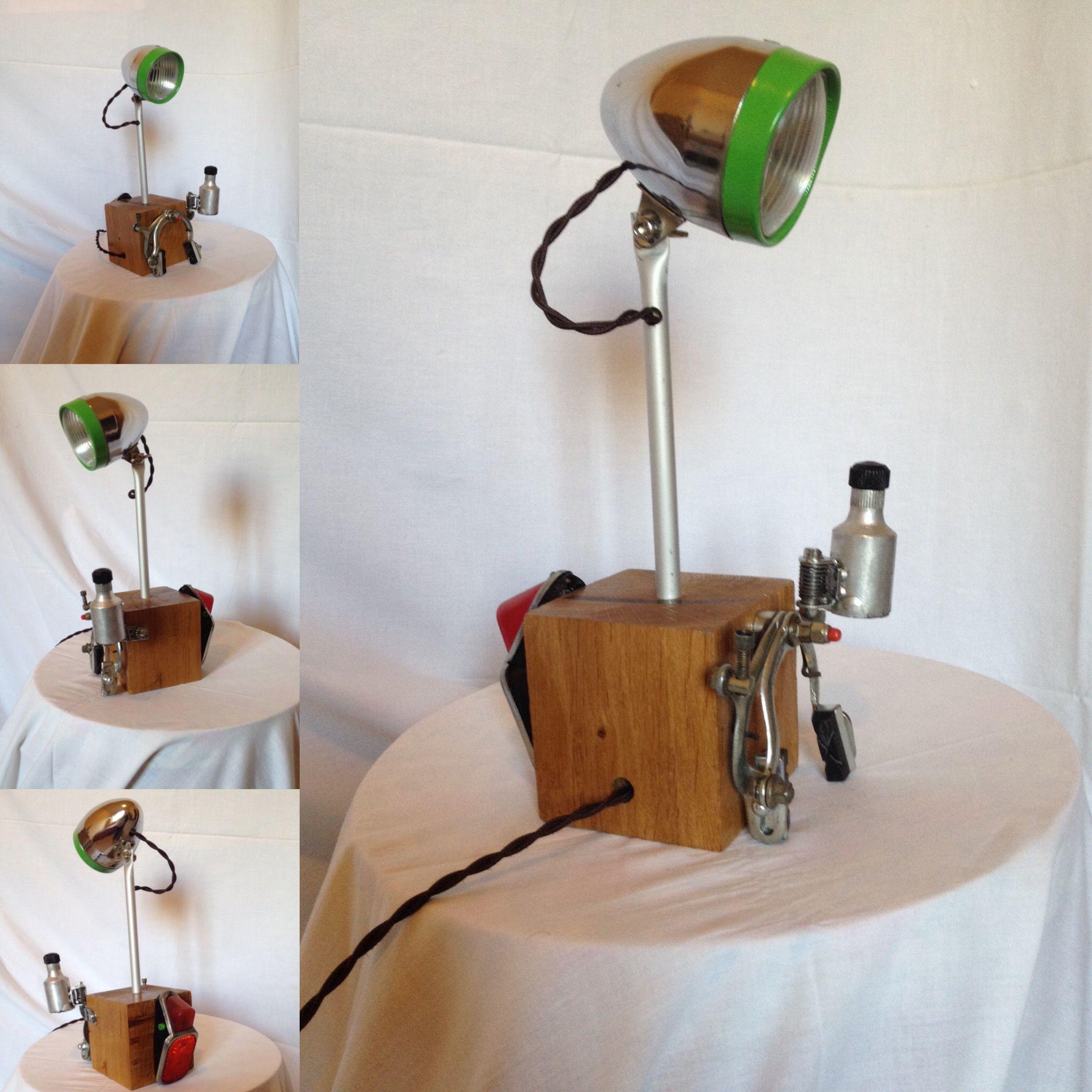 """""""La mia vecchia bicicletta"""" lampada creata da indi buscapè ..."""