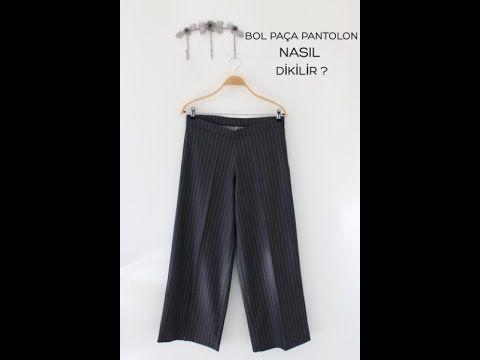 Lastikli Pantolon Nasil Dikilir Lastik Belli Pantolon How To Build A Rubber Trouser Youtube Moda Stilleri Giyim Pantolon