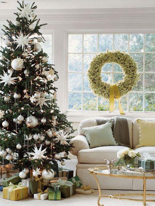 Mona Mina Christmas-Tree decor Pinterest Christmas decor - white christmas tree decorations