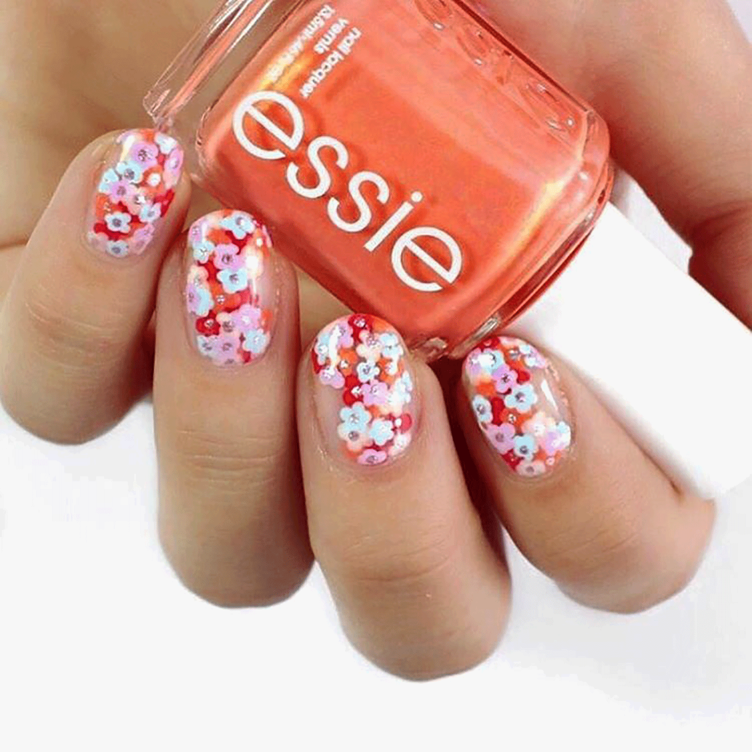 3 Simple Nail Art Designs for Spring 2018   Spring nails, Simple ...