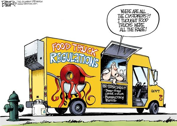 Food Truck Red Tape