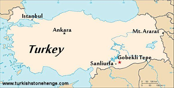 turkey tepe Location of Gobekli Tepe Gobekli tepe Pinterest