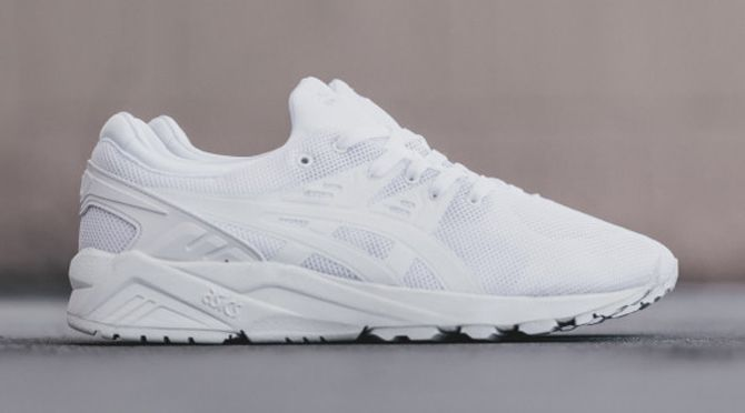 all white asics mens