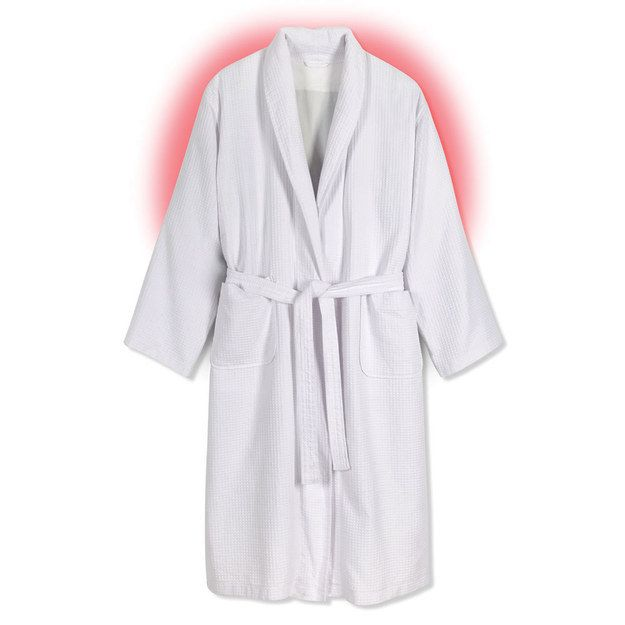 After you're done, live your best life by lounging around in a heated robe.   17 Ways To Make Your Shower The Best Place On Earth