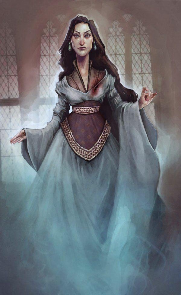 The Grey Lady By Lunalouise Deviantart Com On Deviantart Harry Potter Fan Art Harry Potter Art Harry Potter Universal