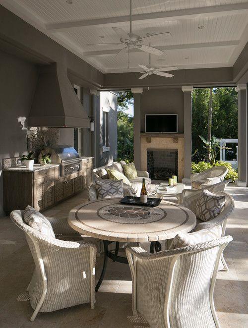 Florida Luxury Homes Outdoor Living 15 Best Decoration Ideas Outdoor Kitchen Design Outdoor Kitchen Design Layout Outdoor Kitchen Countertops