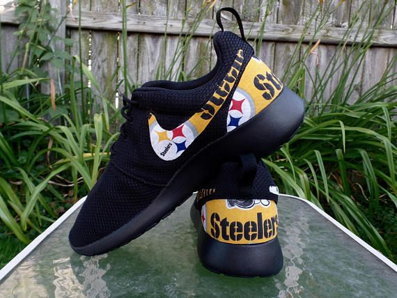 c5366977129b24 custom pittsburgh steelers nike turbo shox team shoes christmas