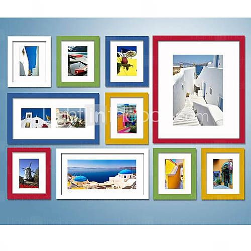 87 99 Colorful Photo Wall Frame Collection Set Of 10 Frames On Wall Picture Frame Wall Frame Wall Collage