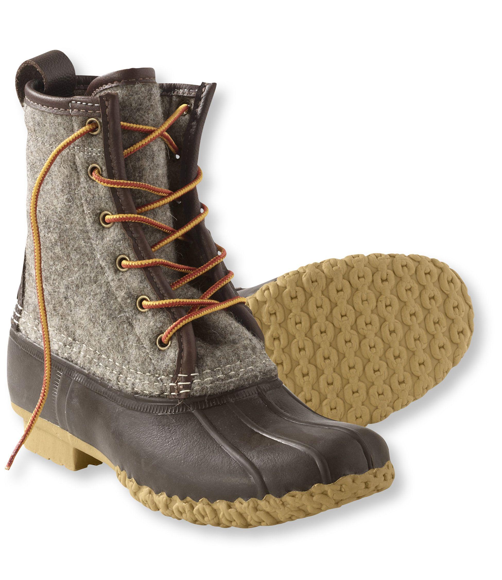 Felt Duck Boots Llbean My Style Pinterest Boots