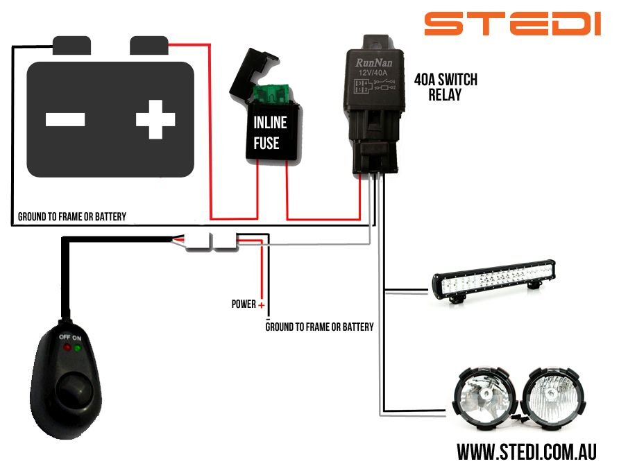 Led Light Bar Wiring Harness Diagram Gooddy Org Best Of