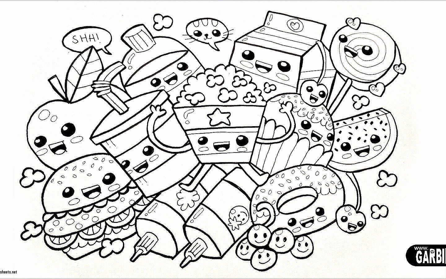 Kawaii Drawing Book Best Of Cute Kawaii Animal Coloring Pages