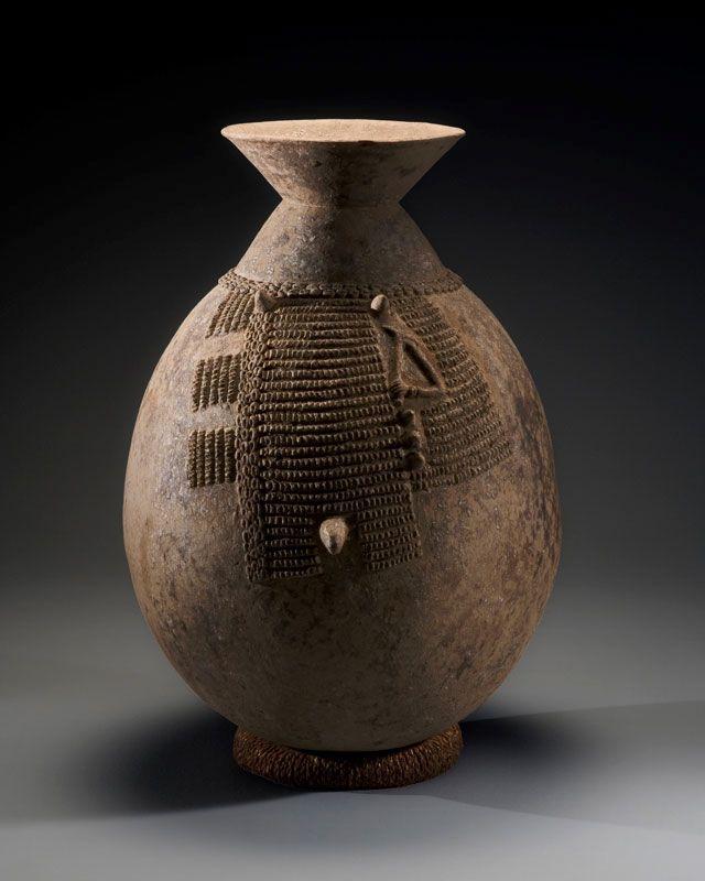 Las Dick Jemison Colecciones de arte tribal africano, Colección de Cerámica