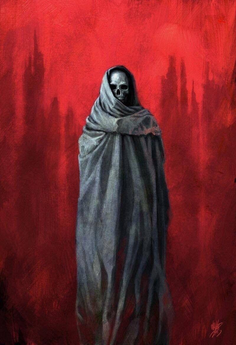 "In Ruins"" by FrankWalls deviantart ☠️ Dark"