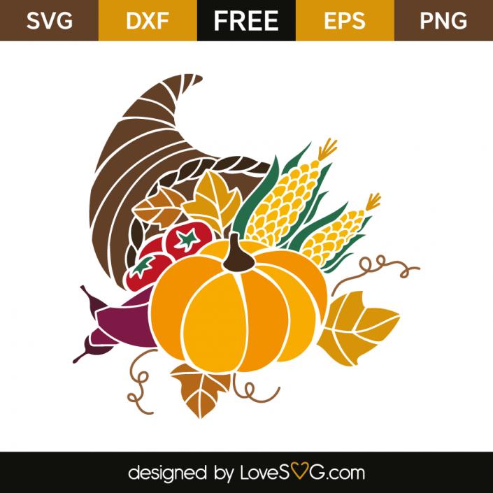 Cornucopia Free SVG Cut Files LoveSVG Free svg cut