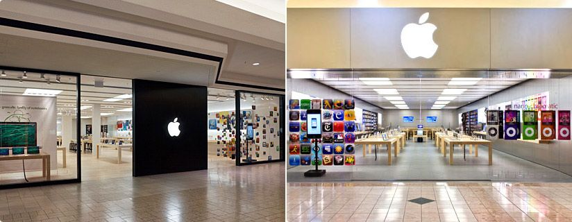 Apple Retail Store Interior