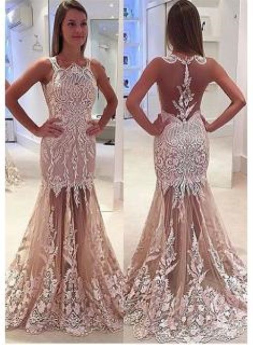 Nice Lace Prom Dresses 2017-2018 Check more at http://24myfashion ...