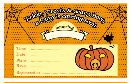How to Throw Halloween Baby Shower My Practical Baby Shower Guide