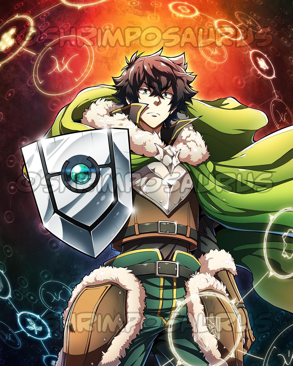 Shield Hero by shrimposaurus on DeviantArt Anime, Hero