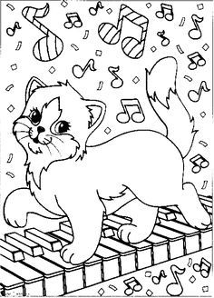 Animals Coloring Page Print Animals pictures to color at