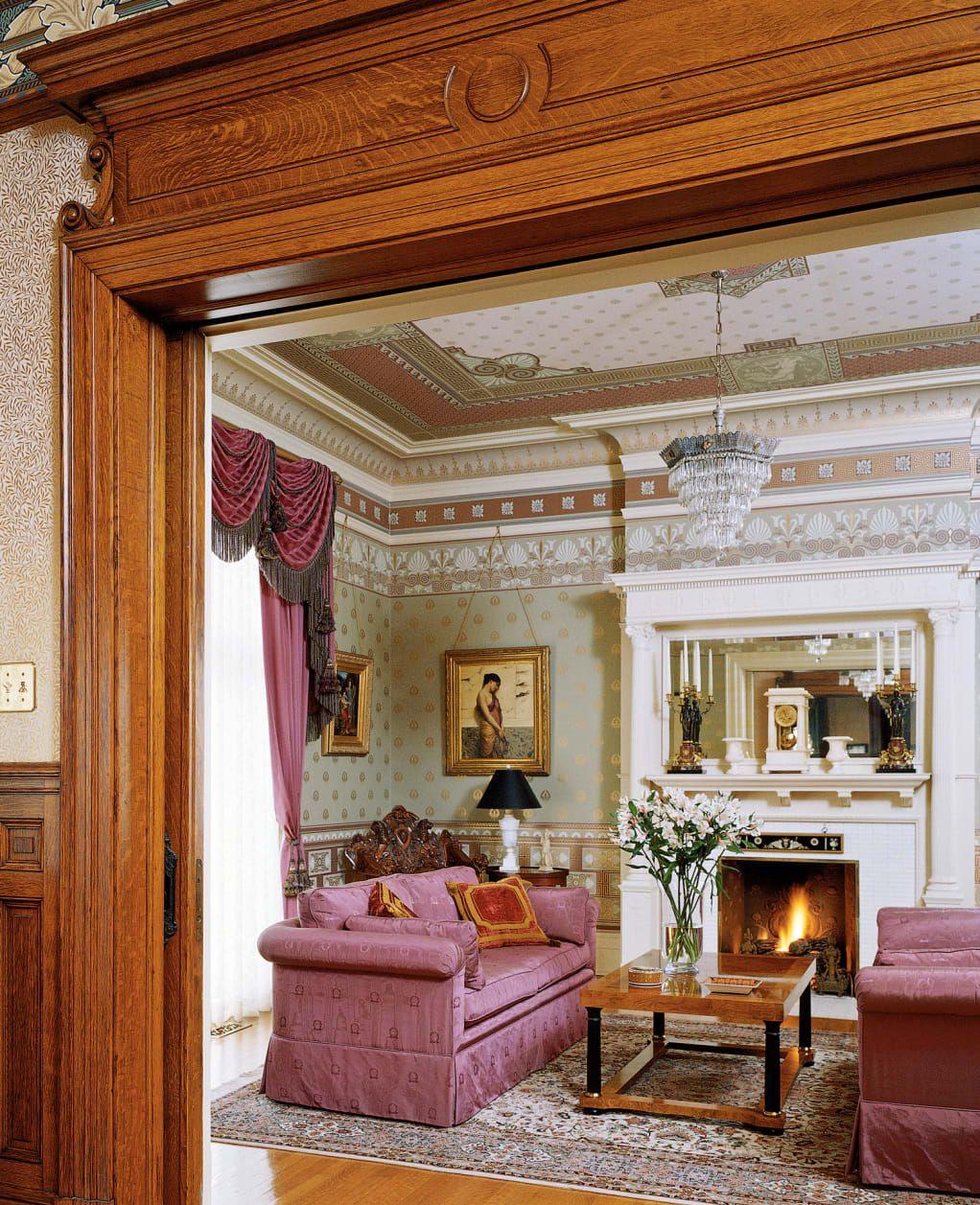Renovating A Victorian Victorian Homes Victorian Style Homes Victorian Home Decor #old #victorian #living #room