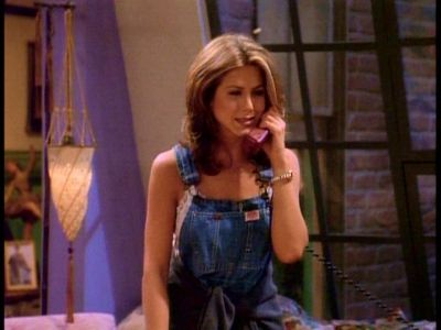 new styles distinctive style outlet on sale Rachel Green looking adorable in overalls | || friends ...