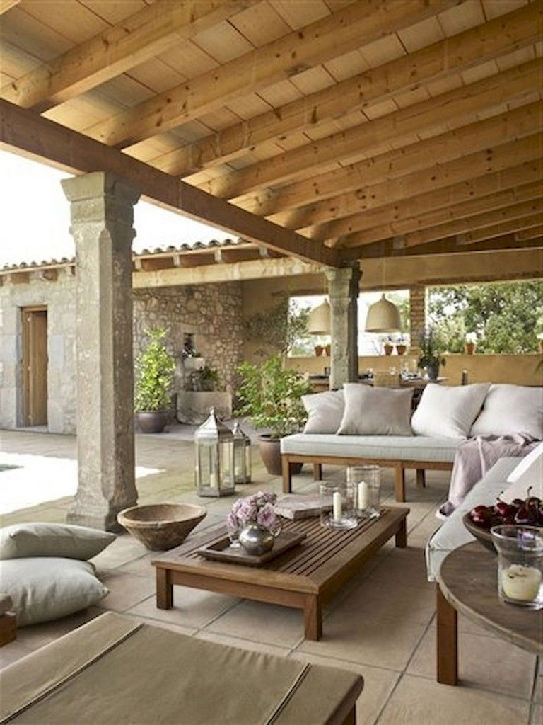 80+ Amazing Stylish Outdoor Living Room Ideas To Expand Your Living Space #outdoorrooms