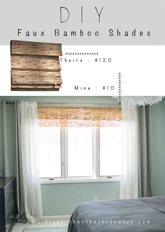 DIY Bamboo Blinds Out of Outdoor Fencing in 2018 | Hometalk: Design ...