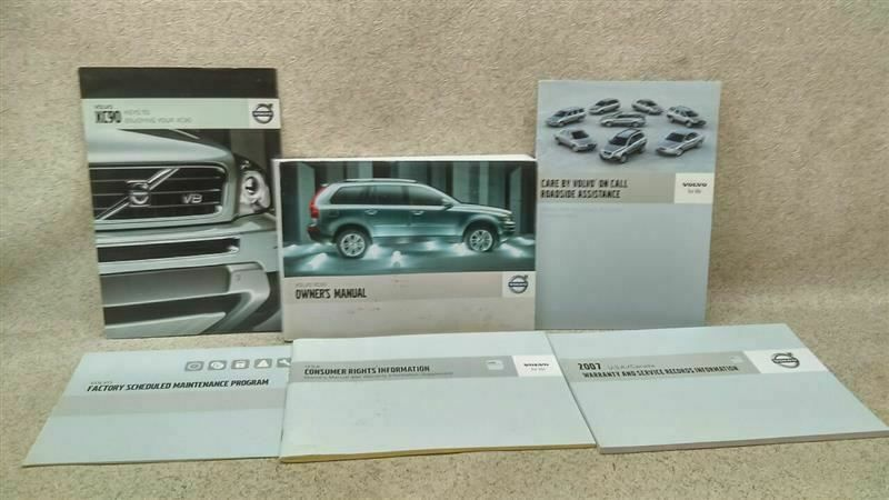 Details About Owners Manual With Inserts And Case Fits 2006 Volvo