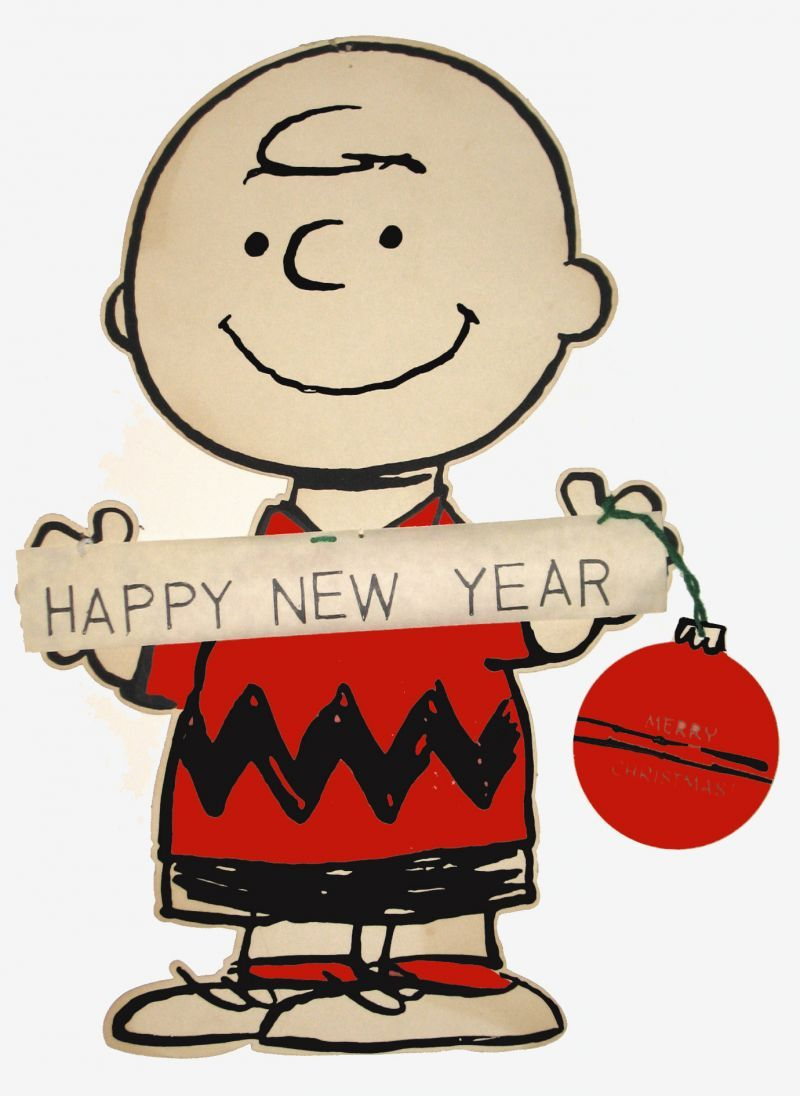 charlie brown happy new year