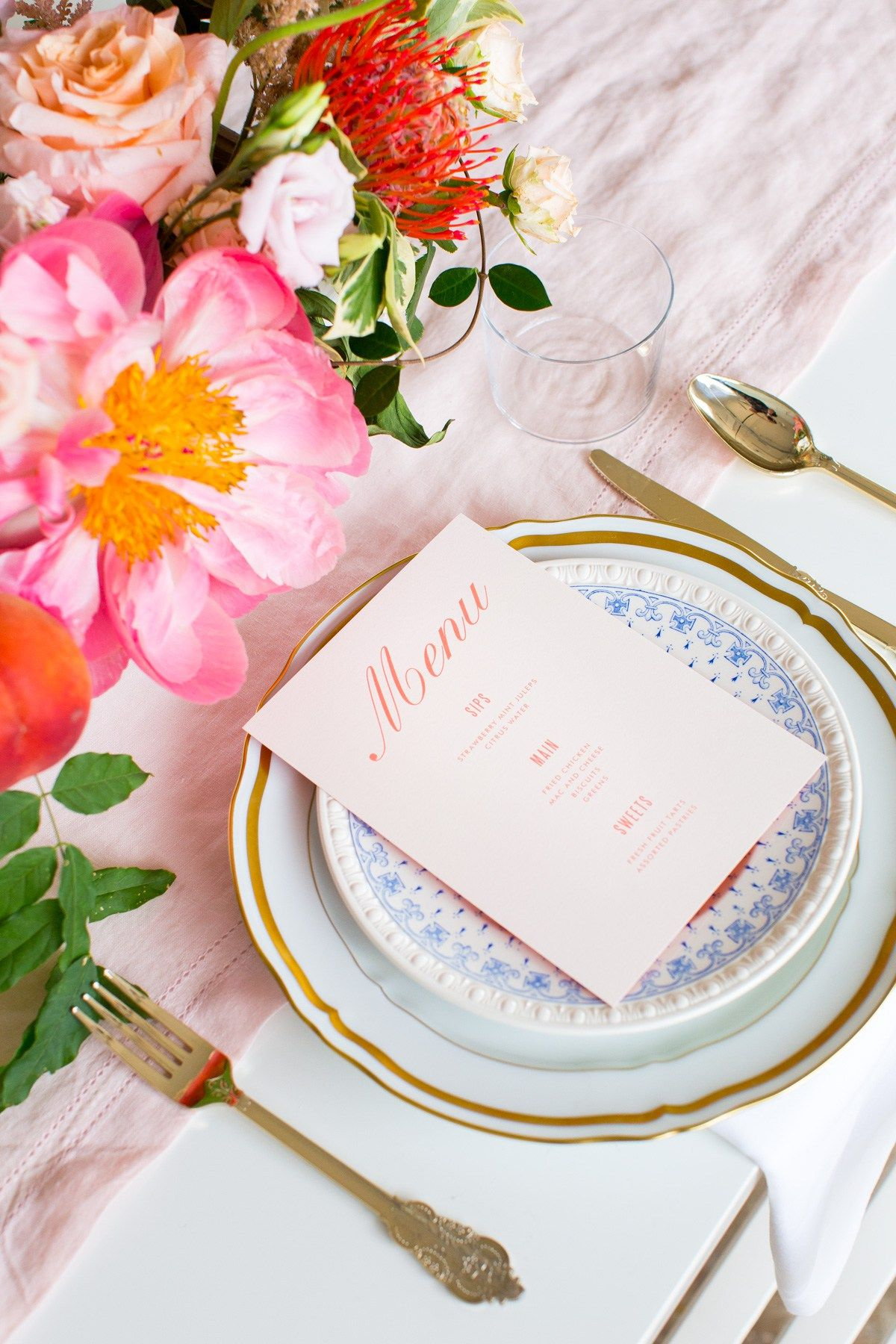 Southern Inspired Bridal Shower | Diy backdrop and Bridal showers