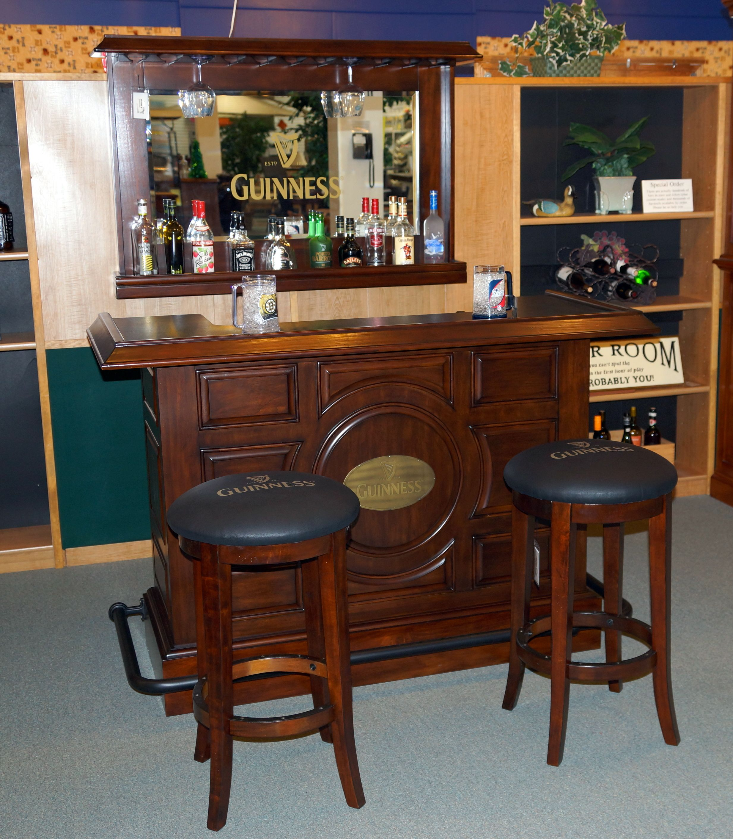 Guinness Bar Set By E C I Furniture Pub Furniture Home Decor Furniture