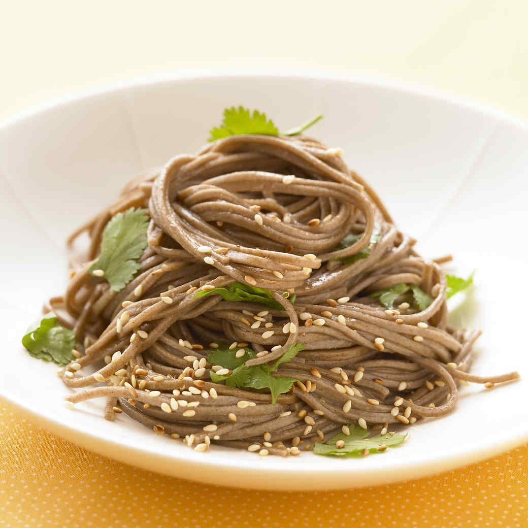 Cold Sesame Noodle Bowls