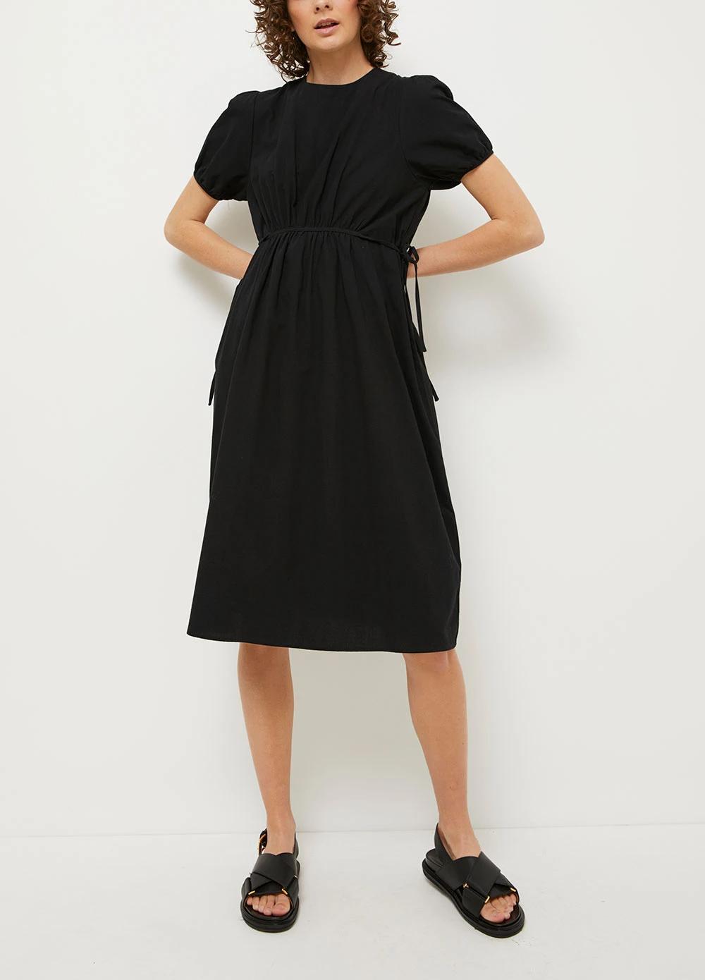 Elia Midi Dress Dresses Midi Dress Day Dresses [ 1390 x 1000 Pixel ]