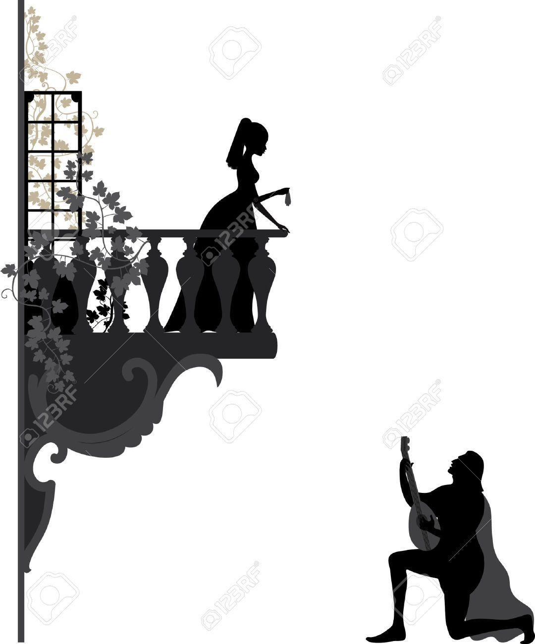 image result for silhouette of romeo and juliet engagement party rh pinterest co uk romeo and juliet clipart romeo and juliet balcony scene clipart