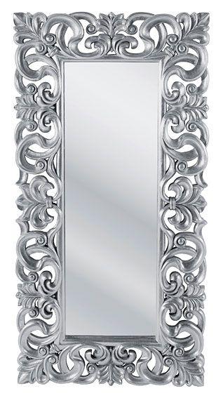 espejo grande vintage silver