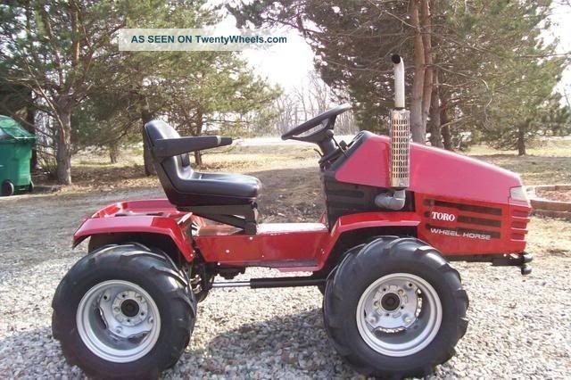 Home Built Articulating Garden Tractor : Garden tractor google otsing home made machines