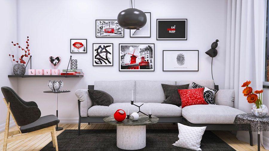 Come arredare coi quadri idee in stile moderno minimal for Idee quadri soggiorno