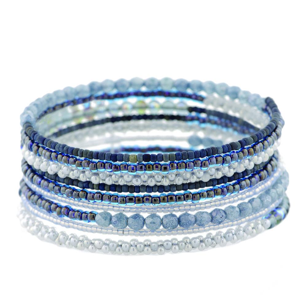 Memory Wire Bracelet Kit by FusionBeads.com®