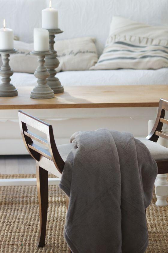 Love the candlesticks & chair