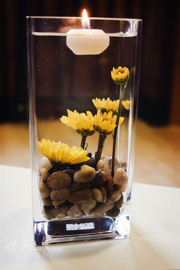 Mason Jar Vases Wedding