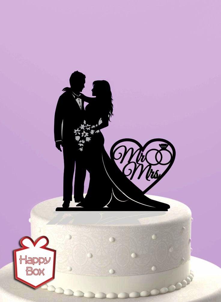 Adorno Para Torta Casamiento Acrilico Cake Topper Boda - $ 230,00 en ...