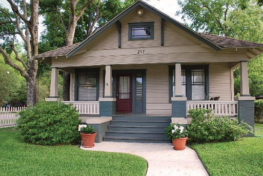 1920 Houston, Texas bungalow Craftsman style bungalow