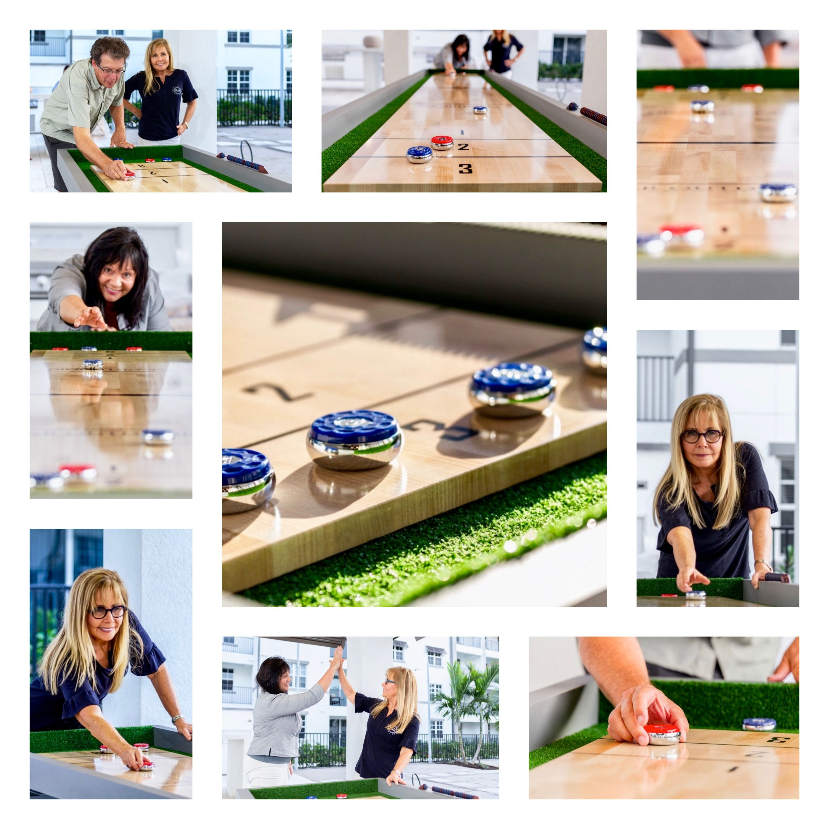 Shuffleboard is a fun and engaging game that is easy