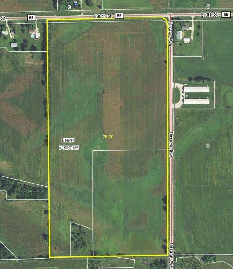 AUCTION - Tuesday, July 21, 2015. 76.2 acres, m/l, with 73.36 crop acres in New Hartford, Iowa http://www.landbluebook.com/ViewLandDetails.aspx?txtLandId1=8f3a1330-9b38-4574-a54f-ef65b11f0da4#.VZwZefnqX-U