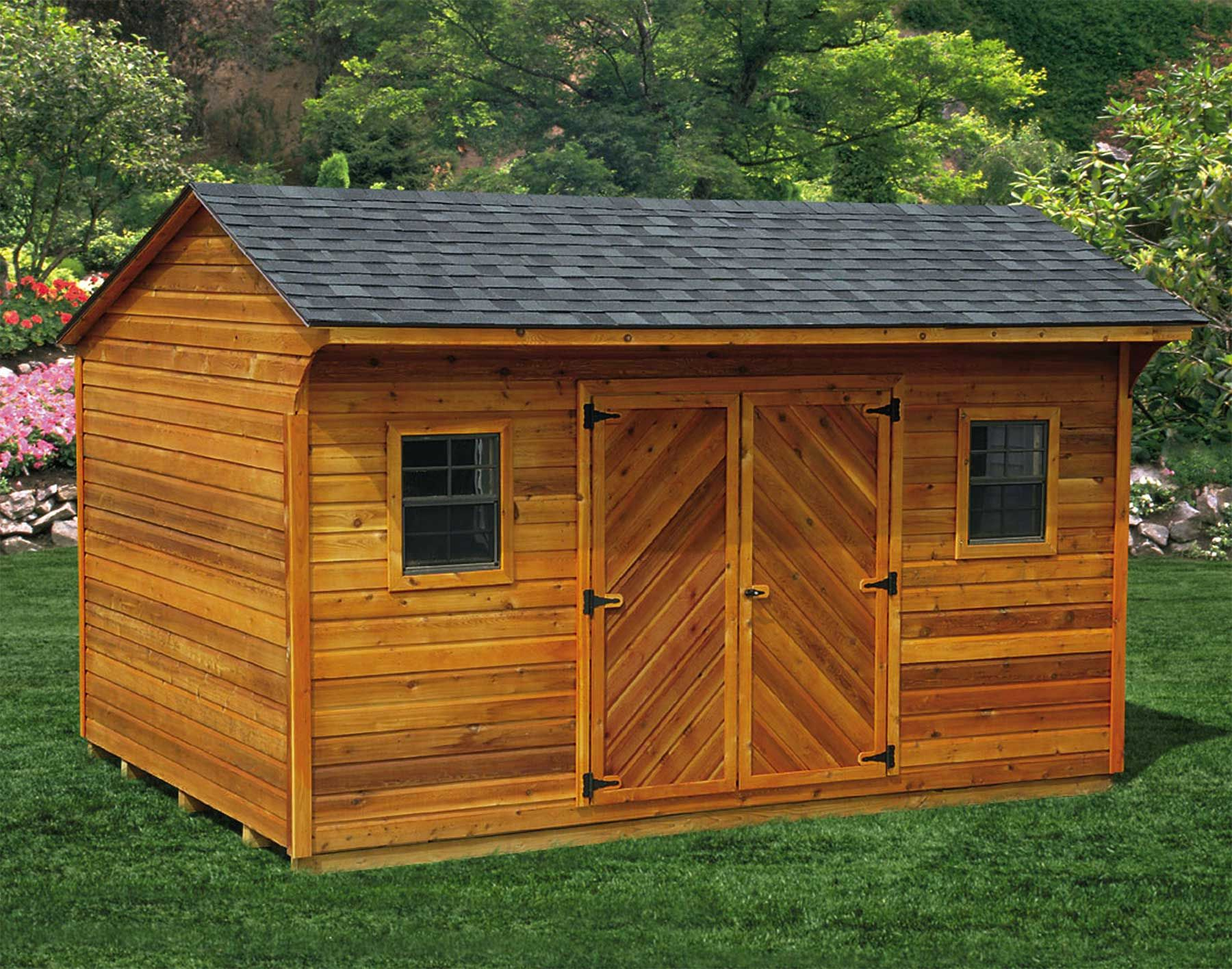 Storage shed images build a shed in your backyard reap for Garden shed installation