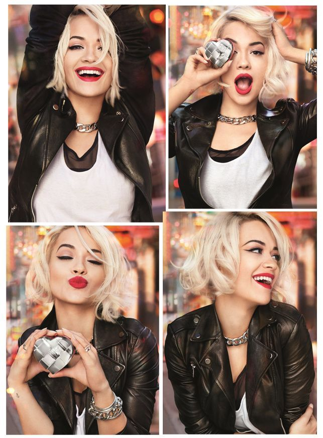 Rita Ora! celeb ritaora | #celebs | Haarfarben, Frisuren ...