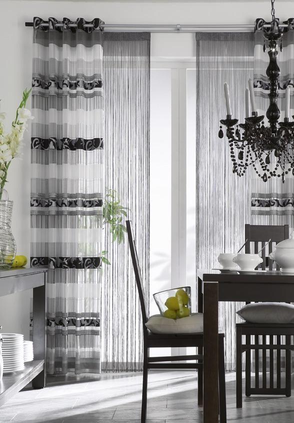 dekoschal mit schlaufen sen oder faltenband online kaufen gardinendekorationen pinterest. Black Bedroom Furniture Sets. Home Design Ideas
