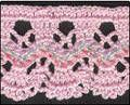page of links to crochet edgings and trims patterns.