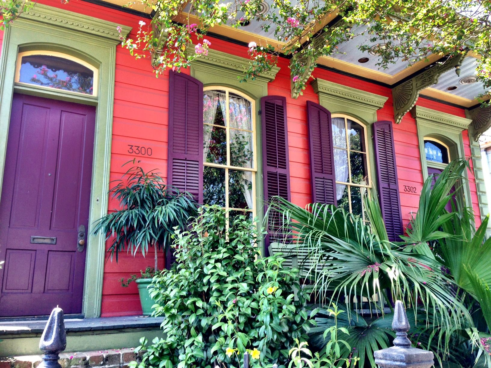 Be bold with color on your new orleans home crescent New orleans paint colors