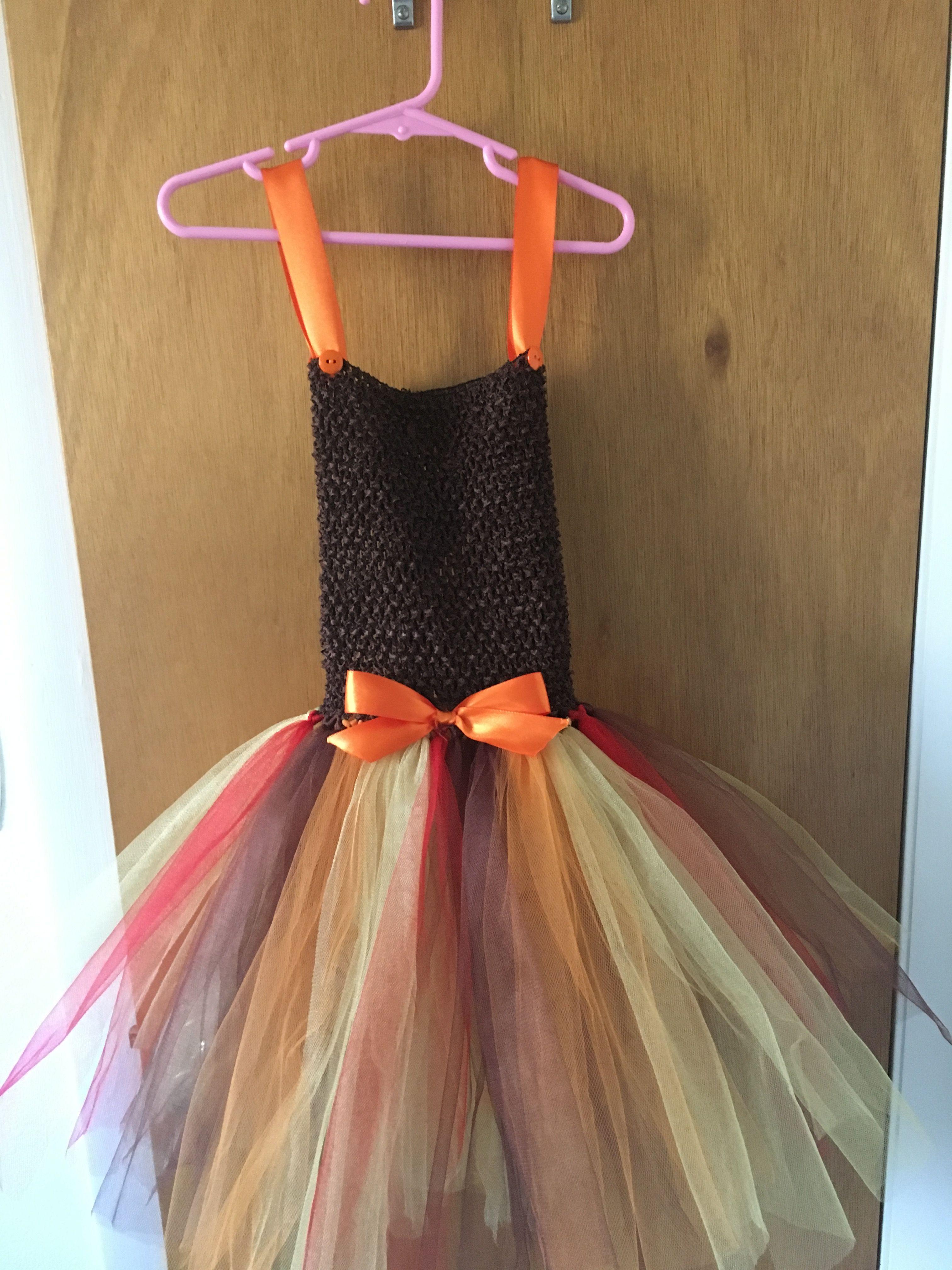Fall colors tutu dress tutu dress dresses girls dresses